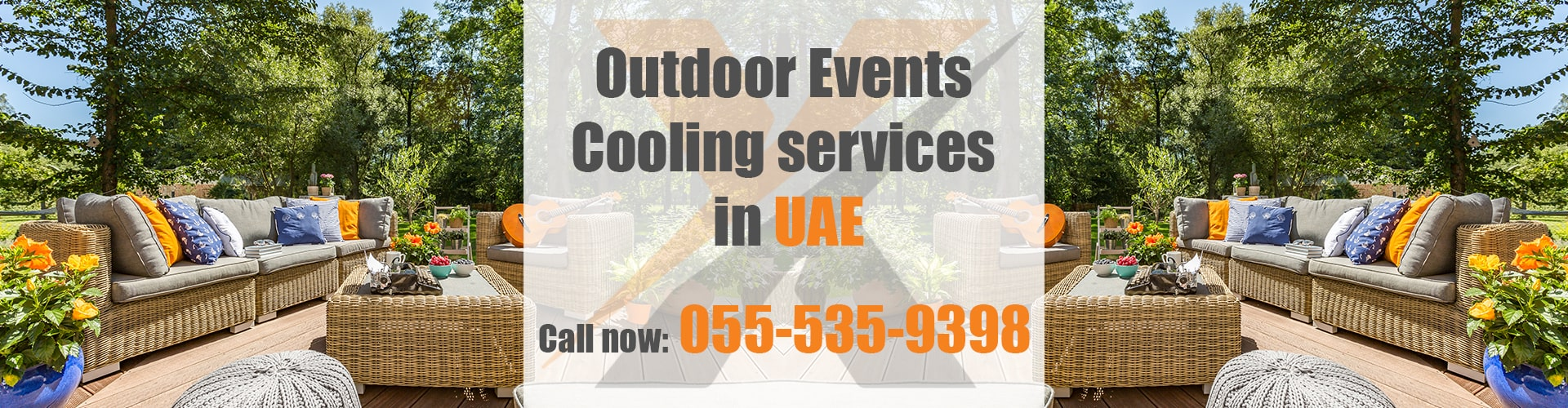 Outdoor Events Cooling